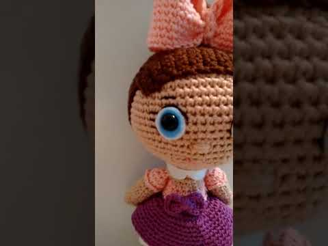 Amigurumi doll LOL. Crochet pattern PDF. Tutorial | Etsy ... | 360x480