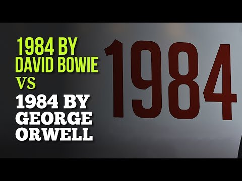 1984 by David Bowie and George Orwell - Song That Retells A Work of Literature