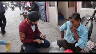 Young Guy helping a handicap person || Inspired from Varun Pruthi
