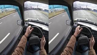 ПОЕЗДКА НА ДЕВЯТКЕ - Смотреть в VR очках SBS VR Video (Google Cardboard, Oculus Rift, VR Box 3D)