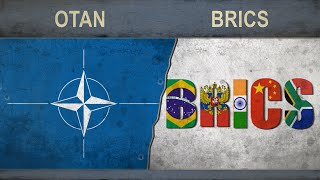 OTAN vs BRICS ✪ Poder Militar Comparación ✪ 2018
