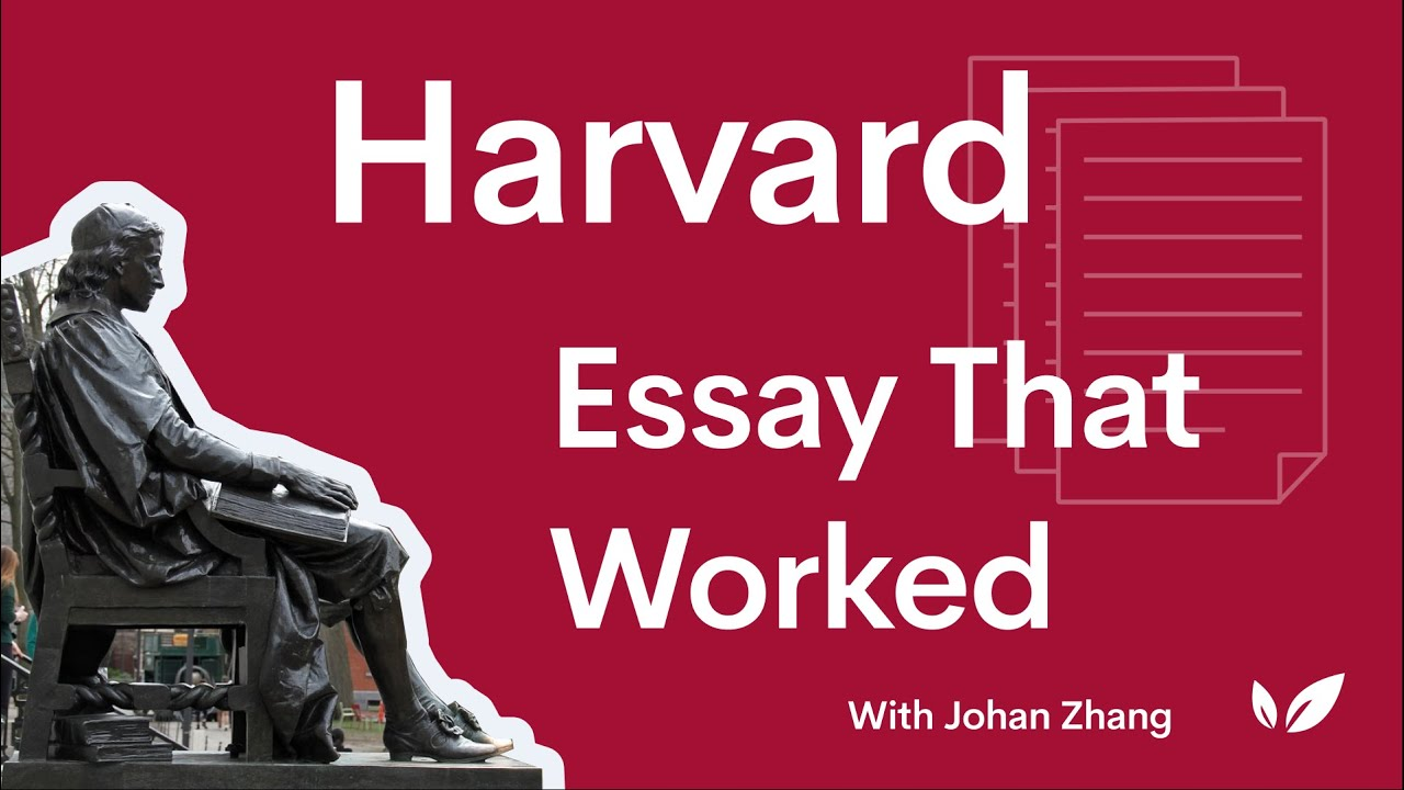 How to Write the Harvard Supplemental Essays 2019-2020