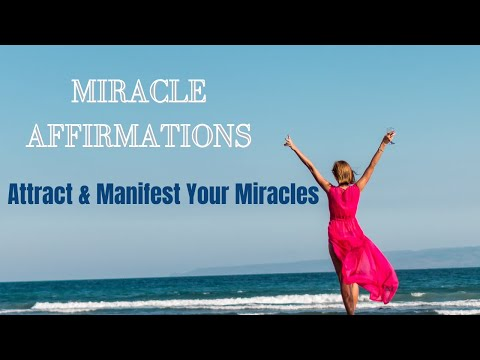 I AM MIRACLE Positive Affirmations