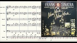 New York, New York Brass Quintet Sheet Music