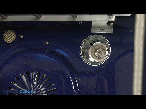 Light Socket Assembly - Kitchenaid Double Oven Electric Range #KFED500ESS02
