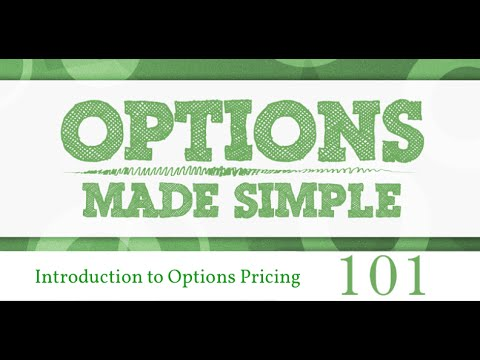 Introduction to options pricing