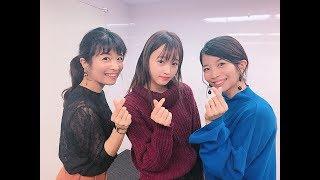 マナカナさん(三倉茉奈・三倉佳奈)と、TPD橘二葉で、「Lovely Lovely...