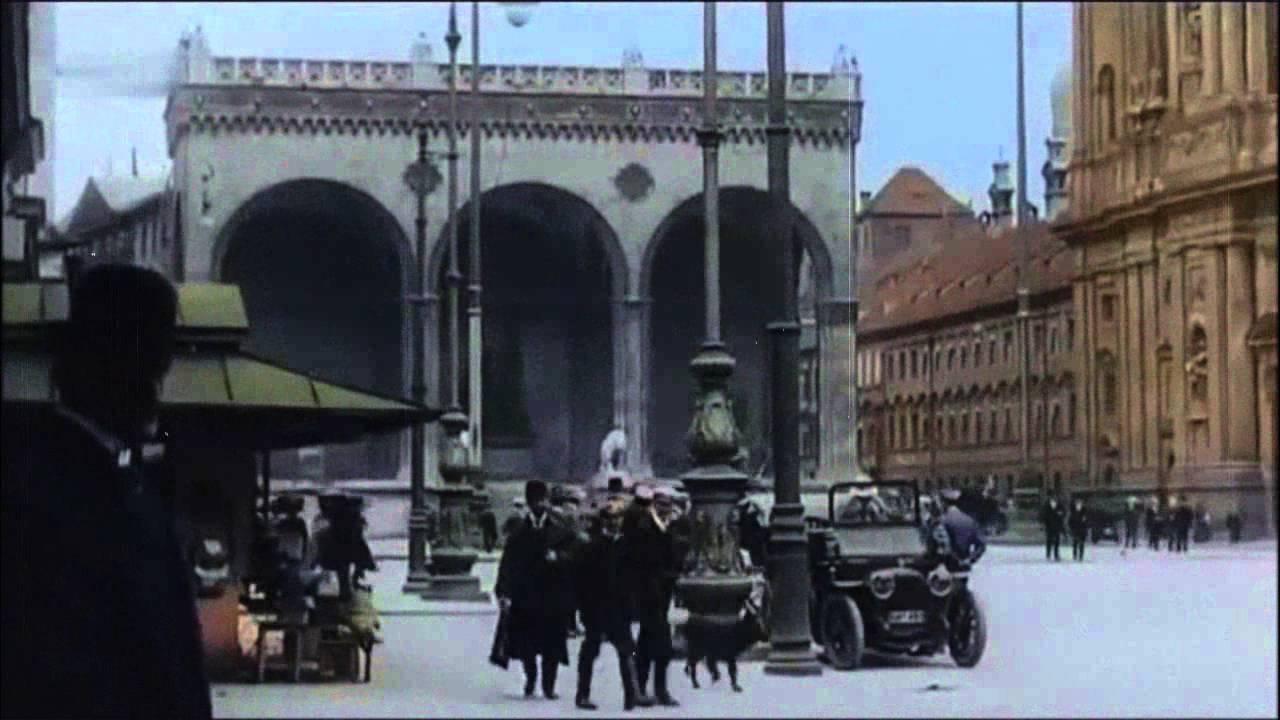 Berlin und München ca 1910