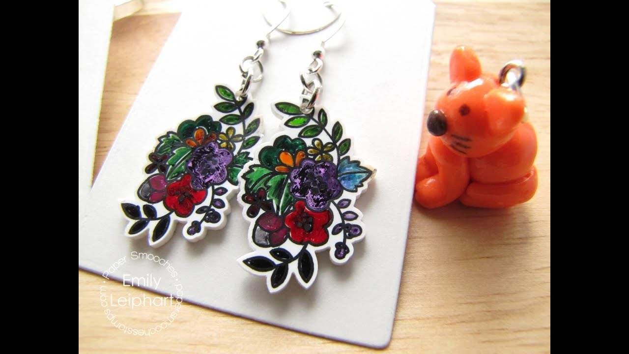 How to make earrings from plastic and always be in the spotlight
