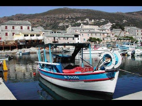 France  la Corse les paysages du cap corse et station de saint Florent