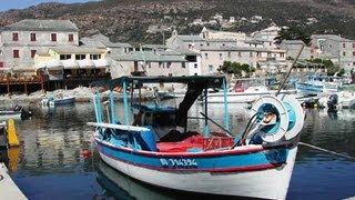 France  la #Corse les #paysages du cap corse et station de #saint-Florent