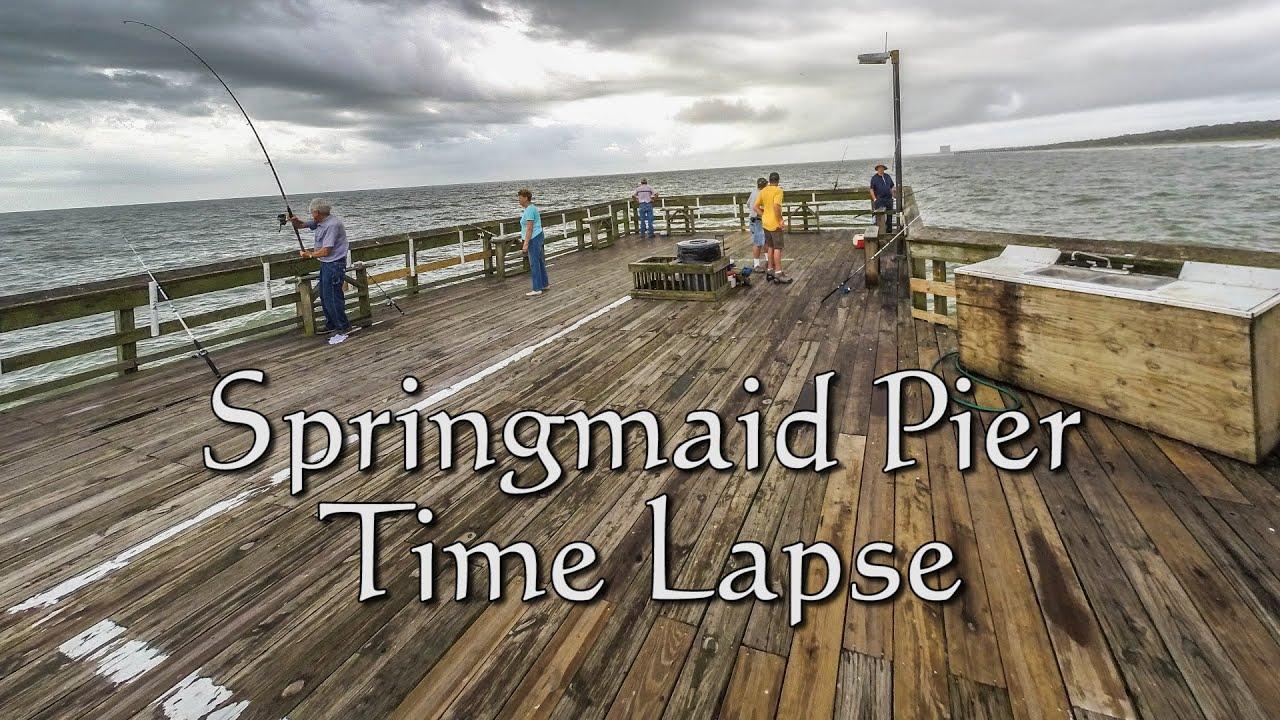 Springmaid Pier Time Lapse