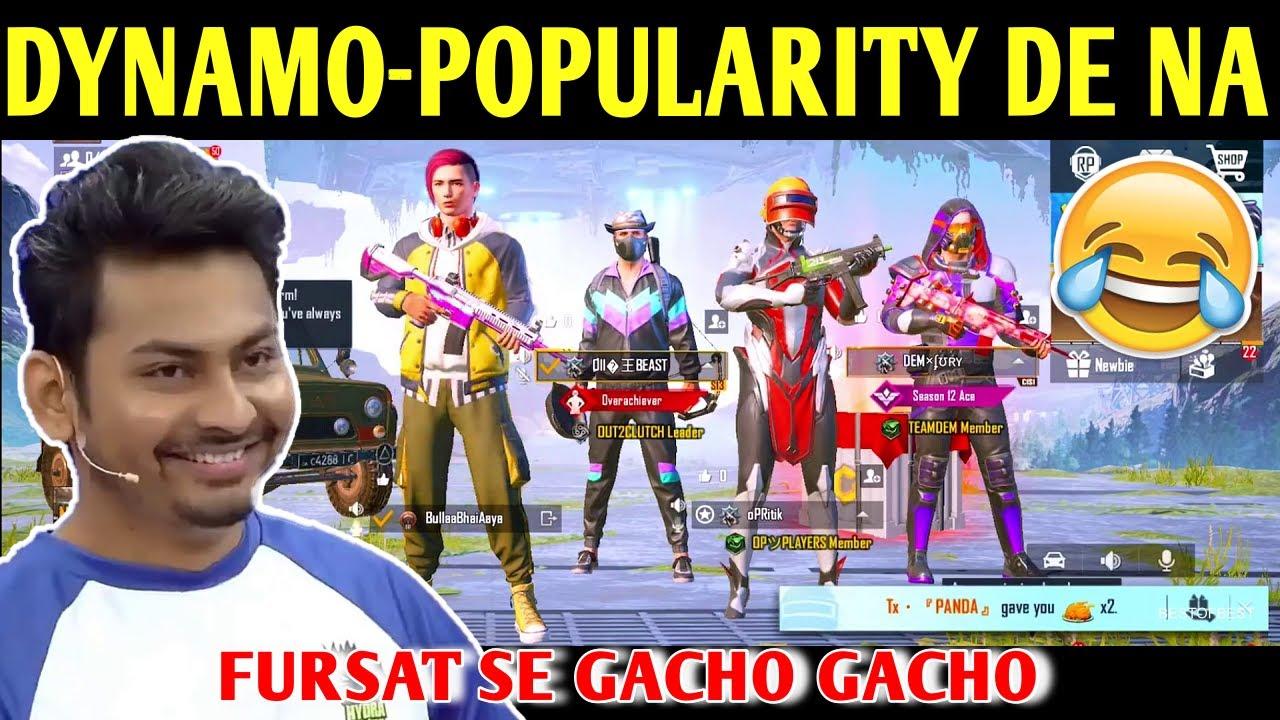 DYNAMO - POPULARITY SEND KAR NA | BATTLEGROUNDS MOBILE INDIA | BEST OF BEST