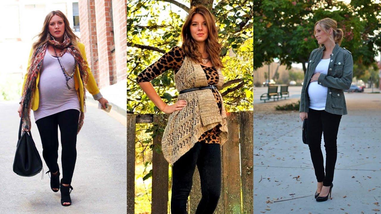 outfits de moda moda para embarazadas