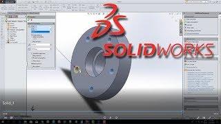 3D ФЛАНЕЦ (flange) ★ SolidWorks