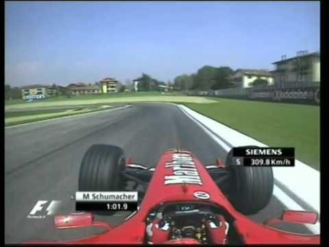 F1 Imola 2004 Qualifying - Michael Schumacher Lap