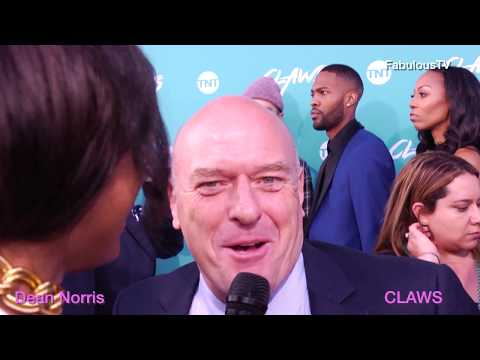 Dean Norris at  CLAWS  premiere on FabulousTV