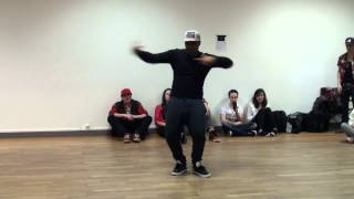 """Kenny -- Krump showcase on """"DJ Turn It Up""""--Yellow Claw at VIBE 2 MOTION"""