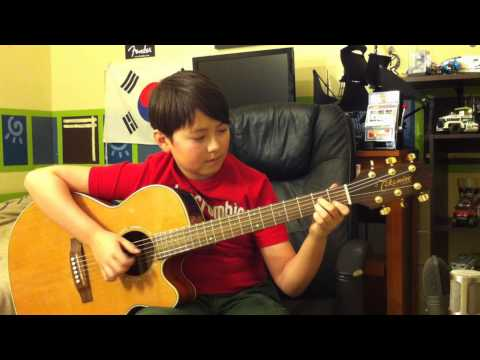 Dumb Ways To Die -Tangerine Kitty-  Acoustic Fingerstyle Guitar - Andrew Foy