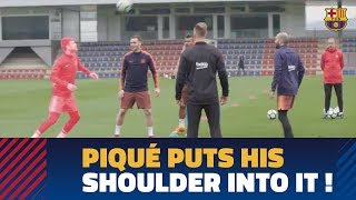 MOVE OF THE WEEK #17: Piqué shows off his skill with an unusual part of his body