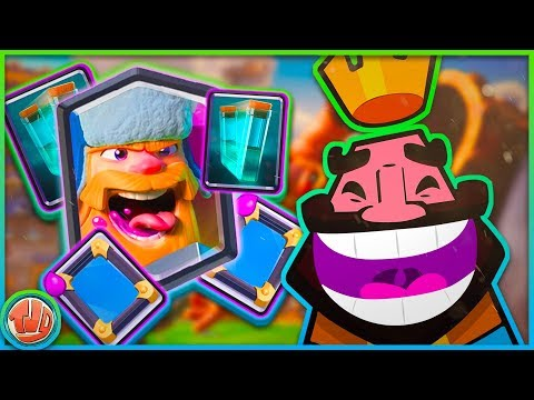 WIN BINNEN 4 SECONDEN! (TROLL DECK) - Clash Royale