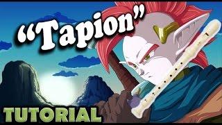 "Dragon Ball Z- Como tocar ""Tapion"" en flauta dulce (Tutorial)"