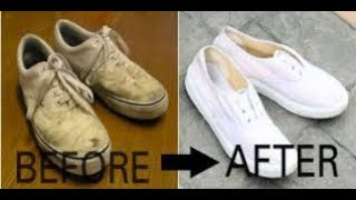 How To Clean White Shoes At Home Easy Tutorials