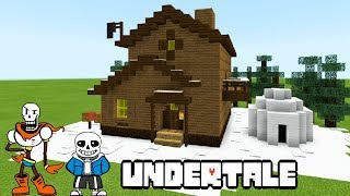 Minecraft Tutorial: How To Make Papyrus and Sans