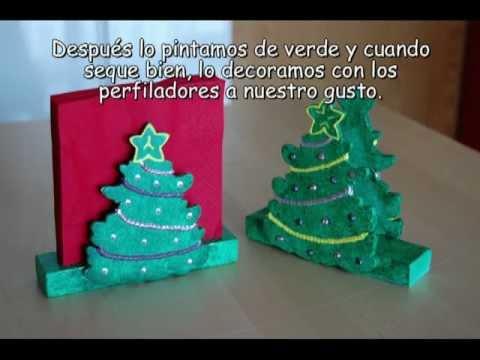 Servilleteros Para Navidad YouTube