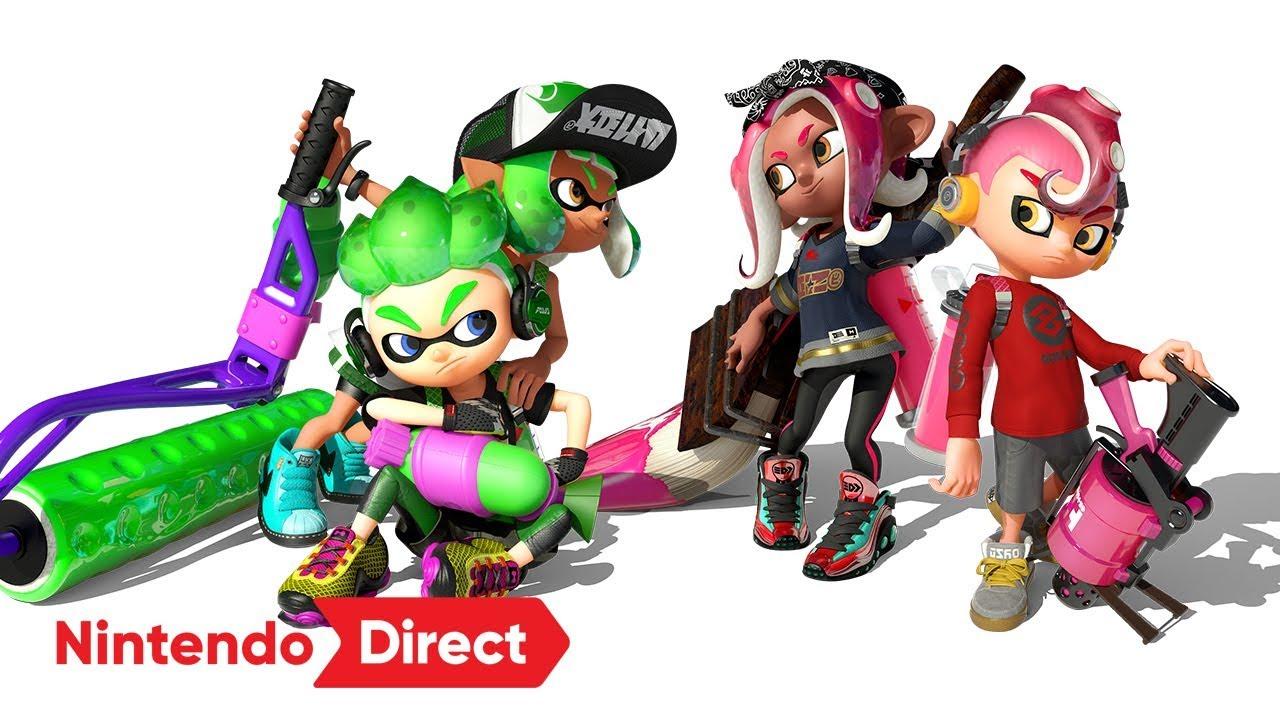 スプラトゥーン2 [Nintendo Direct 2018.3.9] - YouTube