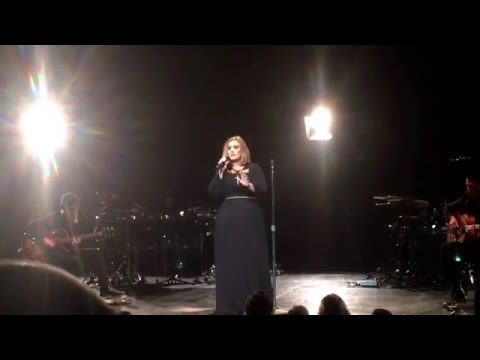 Adele - A Million Years Ago, Live Concert From The Wiltern 02/12/16 In Los Angeles