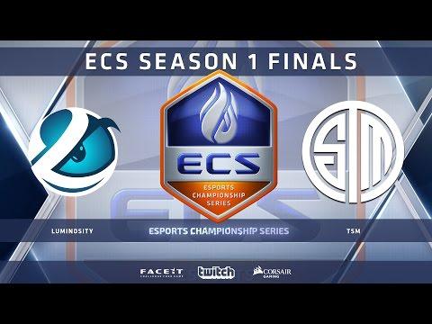 Luminosity vs TSM - Map 1 - Overpass (ECS Season 1 Finals)