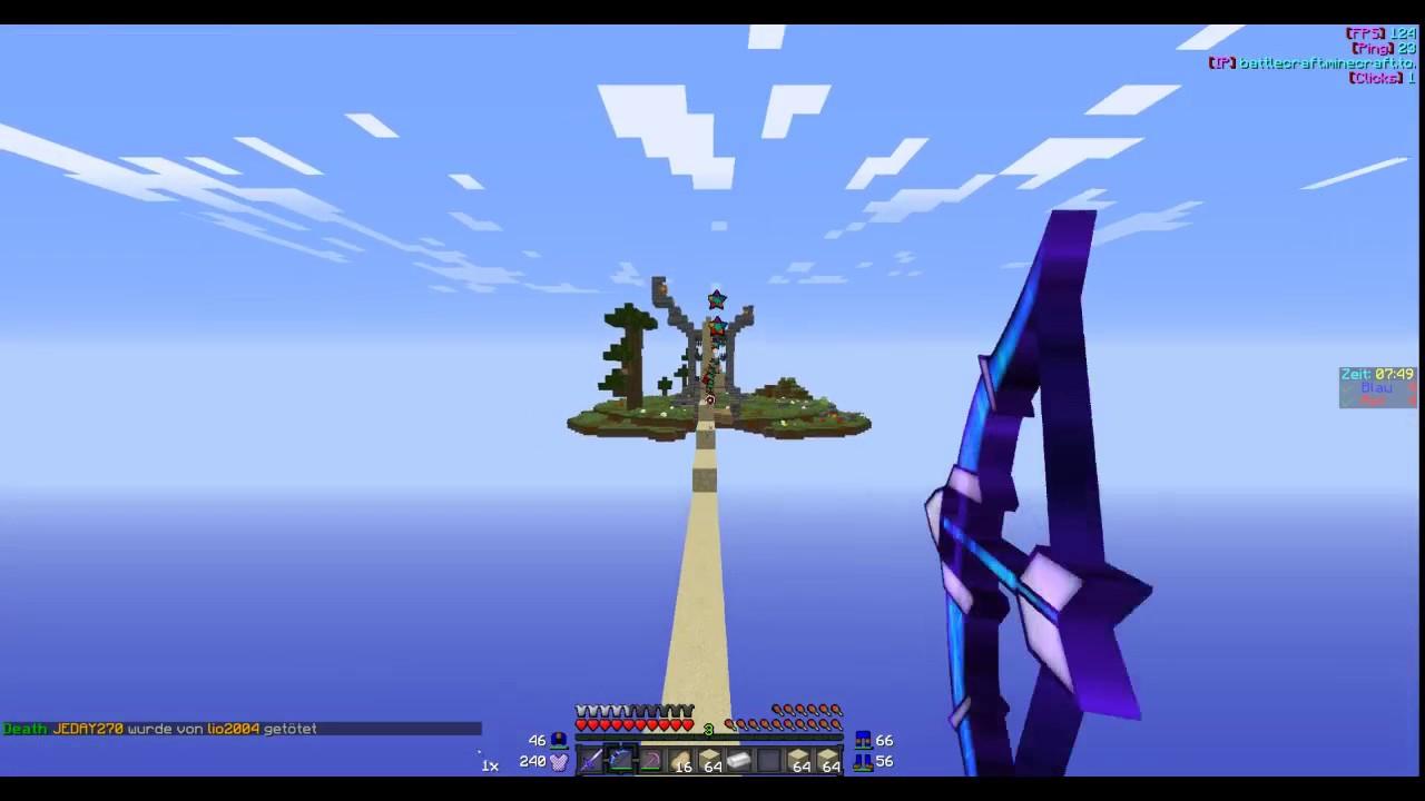 Mal Alleine SpielenMinecraft Betwars Folge YouTube - Minecraft alleine spielen