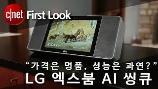 """""""가격은 명품, 성능은 평범?"""" LG 엑스붐 AI 씽큐"""