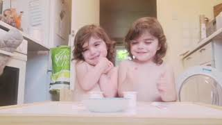 Adorable Twin Girls Couldn't Last Through The Patience Challenge
