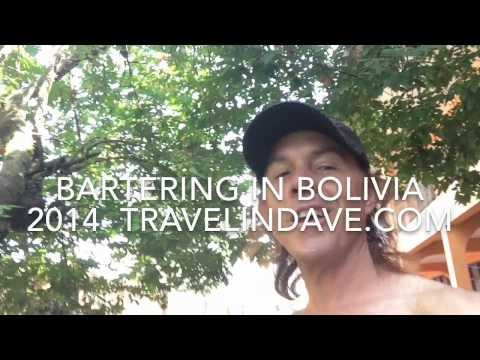 Bartering In Bolivia. 2014