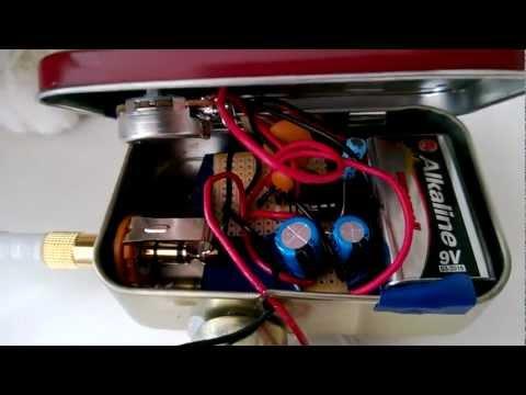 Altoids Mini Amp