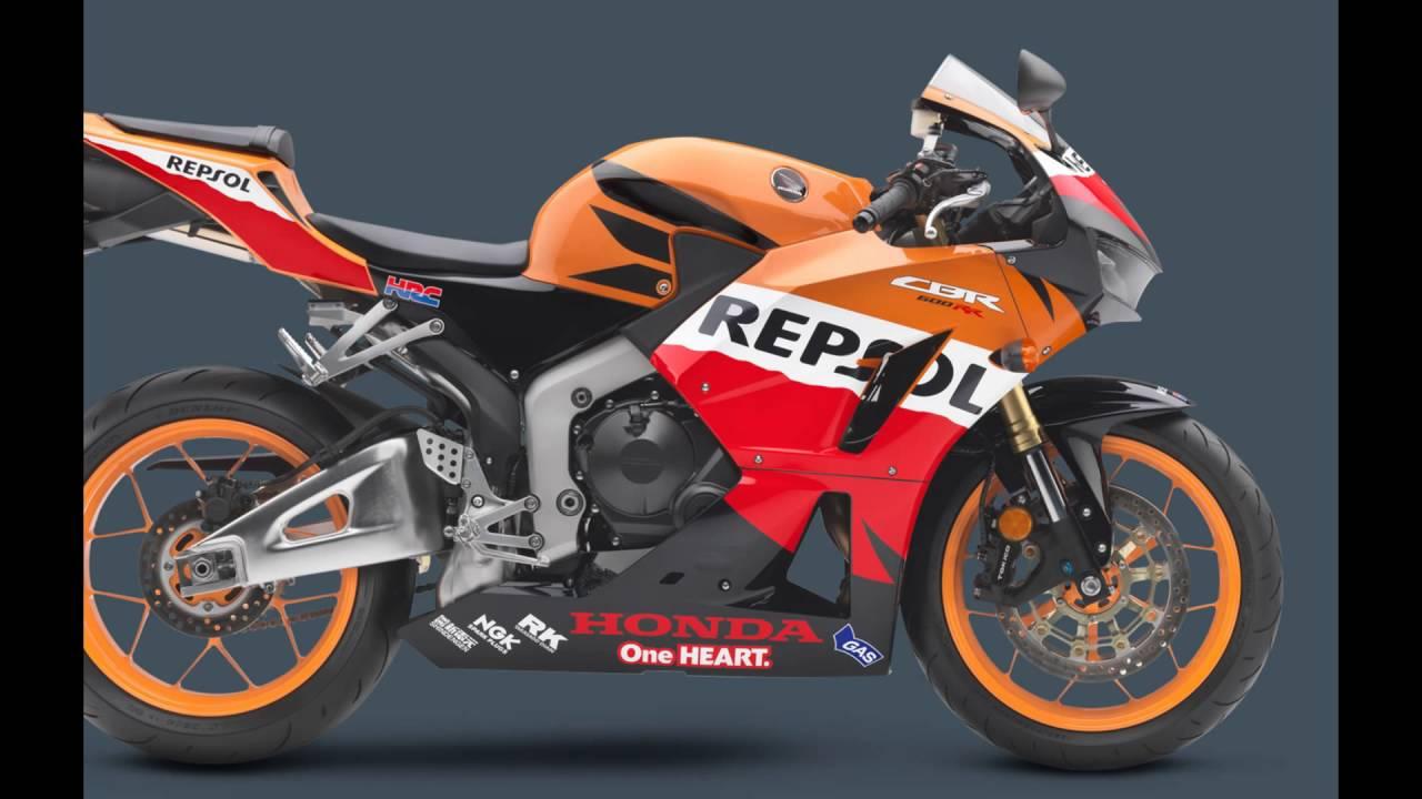 2016 Honda CBR250R Repsol Edition - YouTube