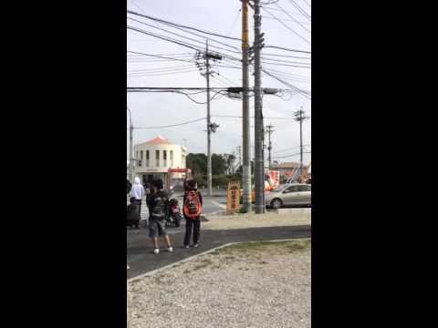 沖縄県成人式暴走 逮捕の瞬間(2016年)