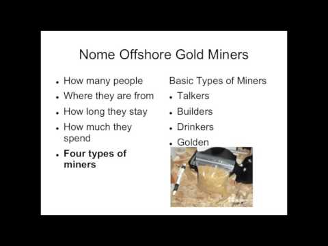 Offshore Mining : Nome - Part 4