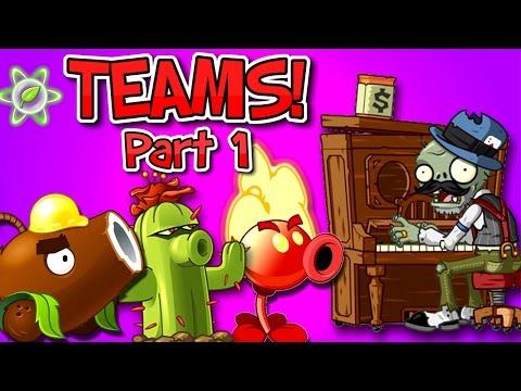 Plants vs. Zombies 2 Piano Zombie vs Team Plants PART 1