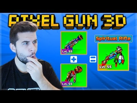 Pixel Gun 3D | Inevitability + Third Eye = Spiritual Rifle