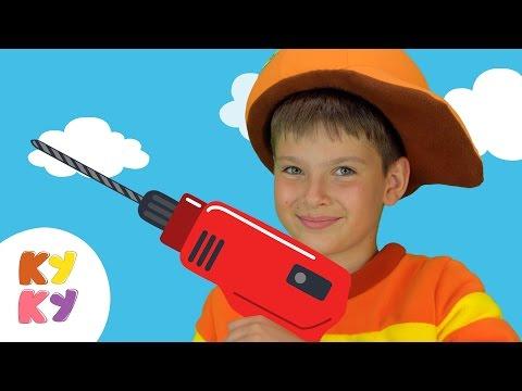 КУКУТИКИ - МОЛОТОК - Веселая развивающая песенка мультик про рабочие инструменты