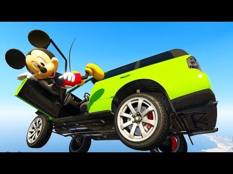 Видео для детей про Машинки. Мультик про тачки, супергерои - учим цвета