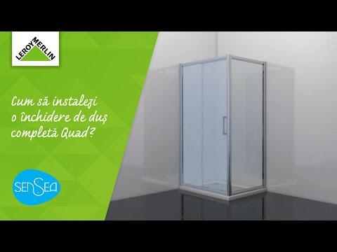 Cum Sa Instalezi O Inchidere De Dus Completa Quad Ghid Leroy Merlin Romania