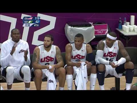 USA vs Nigeria 2012 Olympics Full Highlights -  London Men