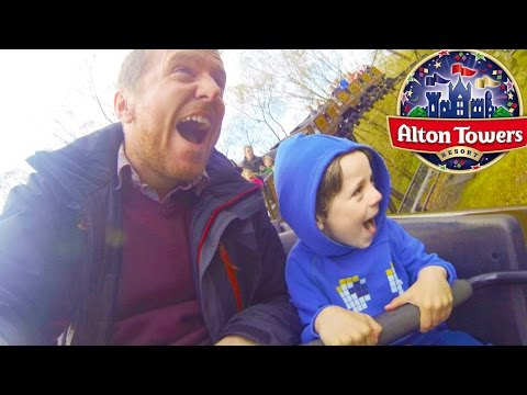 SURPRISE Family Trip to Alton Towers | Theme Park Visit and CBeebies Land
