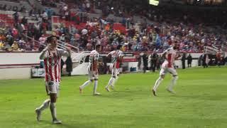 Gol de Victor Dávila (Necaxa v.s. Cruz Azul)