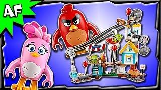 Lego Angry Birds Movie PIG CITY TEARDOWN 75824 Stop Motion Build Review