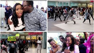 ROMANTIC SURPRISE AT IKEJA CITY MALL